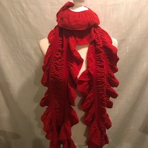 Rust colored scarf NWT